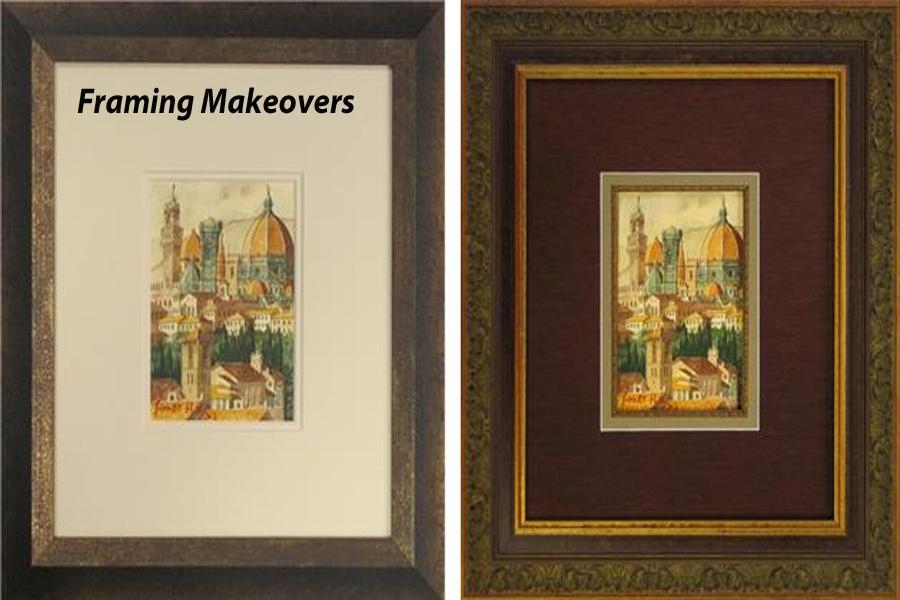 Framing Makeovers